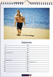 Direct online uw fotokalender met eigen foto's maken!