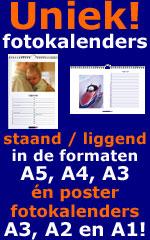 Foto verjaardagskalenders staand of liggend in A5 A4 A3 of poster A3 A2 A1 formaat!
