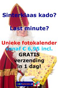 Last minute leuk Sinterklaascadeau - snel verjaardagskalender maken