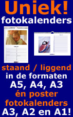 Uniek fotokalender staand of liggend in A5 A4 A3 of poster fotokalender in A3 A2 A1 formaat!
